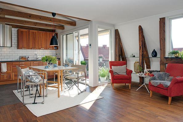 švedski-apartman-sa-rustikalnim-elementima