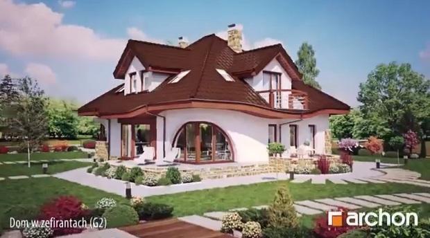 """Kuća """"Zefira"""" – Virtualni obilazak interijera (VIDEO)  KucaSnova.com"""