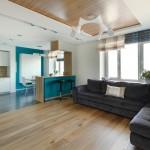 Minimalistički uređen apartman sa svijetlom i ugodnom atmosferom