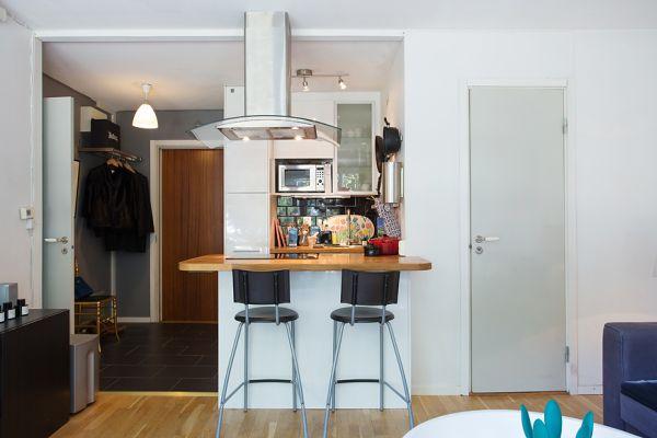 37 kvadrata pretvoreno u prozračan i udoban stan  KucaSnova.com