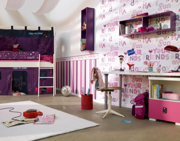 Disney Tapete Za Deciju Sobu : Fun Kids Wallpaper Designs
