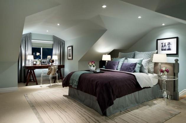 24 IDEJE: Spavaća soba u potkrovlju (FOTO)  KucaSnova.com