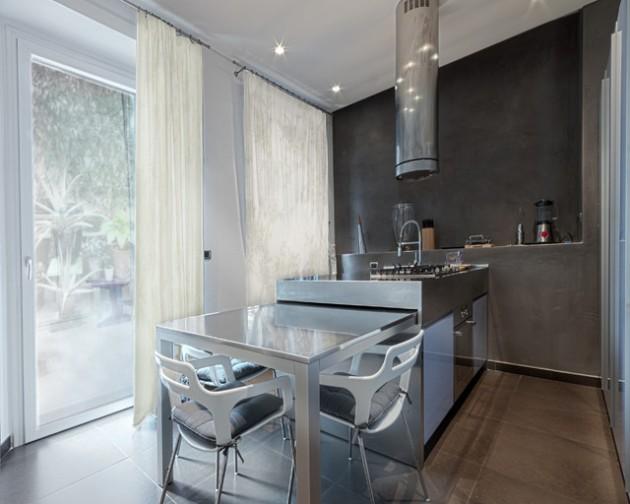 Дизайн стола на кухне фото