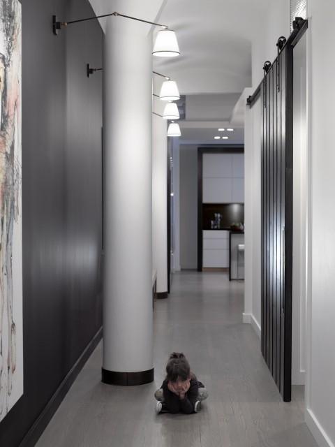 20 ideja za rasvjetu u hodniku. Black Bedroom Furniture Sets. Home Design Ideas