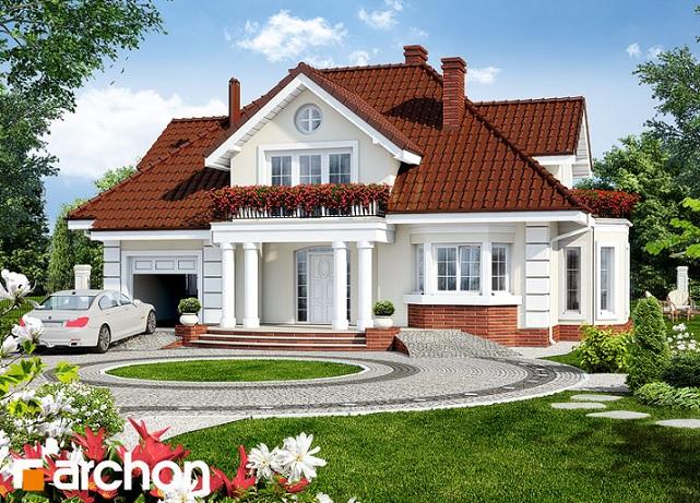 Planovi+Za+Kucu Ukupna stambena površina iznosi 151,46 m2. Garaža ...