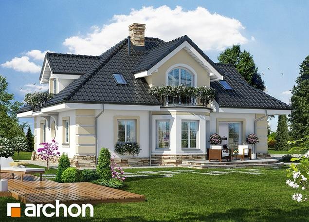 Projekat ku e sa potkrovljem i gara om archon 4 for Einfamilienhaus katalog