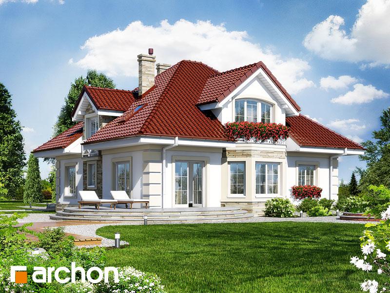 Ukupna stambena površina iznosi 164,8 m2. Garaža zauzima 20,0 m2, a ...
