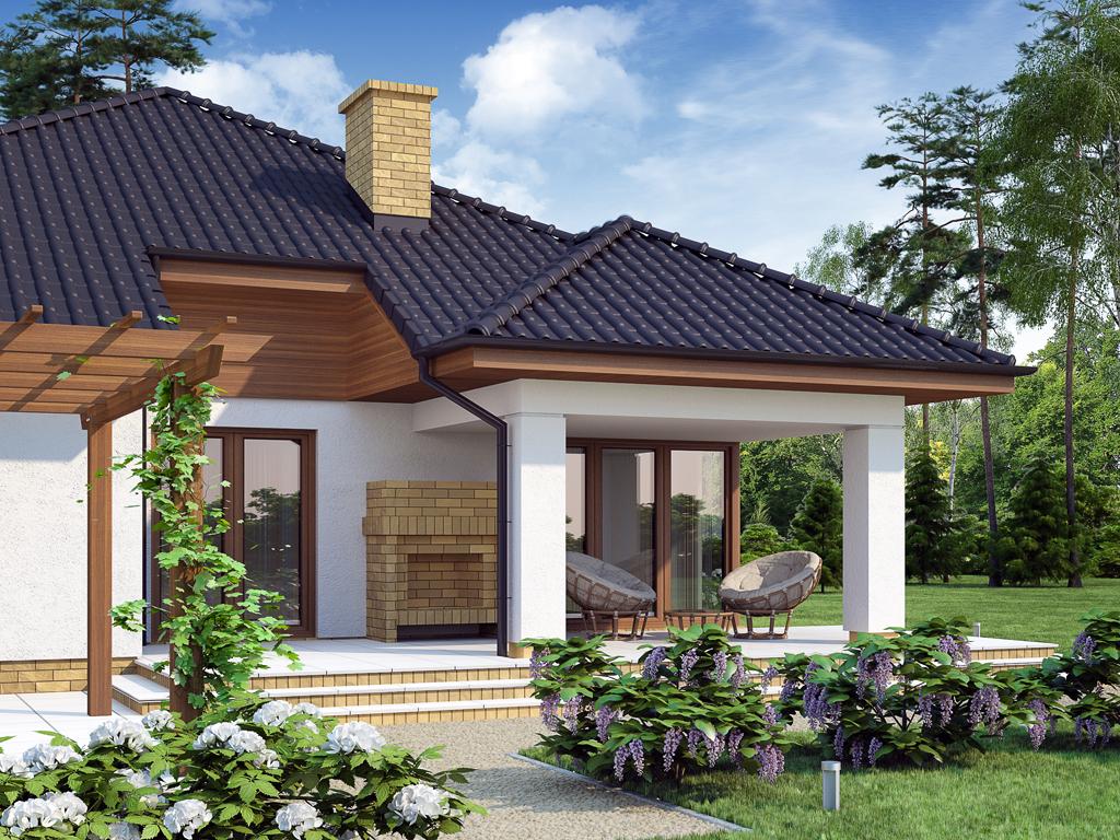Projekat prizemne kuće – Kroton  KucaSnova.com