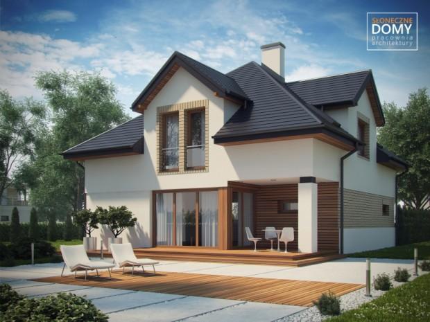 Na katu kuće, projektirane su četiri spavaće sobe i dva kupatila. U ...