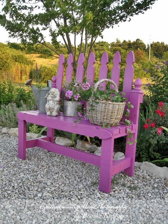 Napravite predivne klupe za vaš vrt (20 IDEJA)  KucaSnova.com