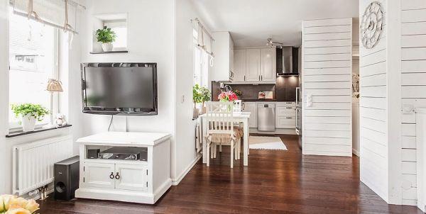 Jako šarmantan i pametno osmišljen mali stan od 40 m2  KucaSnova.com