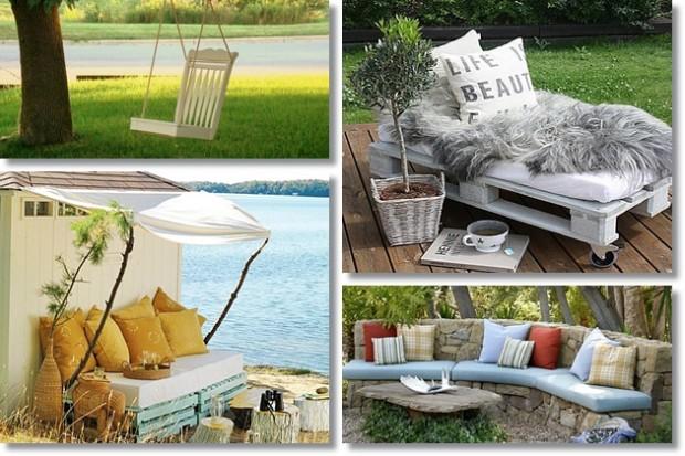 Ne bacajte – prenamijenite! Kreativne sjedalice (i ležajevi) za dvorište i te...