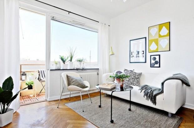 Mali stan s velikim idejama: Skladnih 32 kvadrata  KucaSnova.com