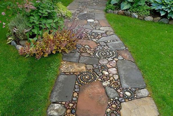 Zanimljivo i korisno: Nekoliko ideja za dekoraciju dvorišta i vrta kamenčićim...