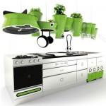 Futuristička eko kuhinja