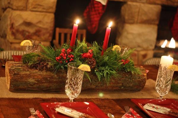Rustikalne božićne dekoracije  KucaSnova.com