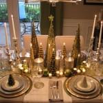Enterijer u prazničnom duhu: Novogodišnja dekoracija stola