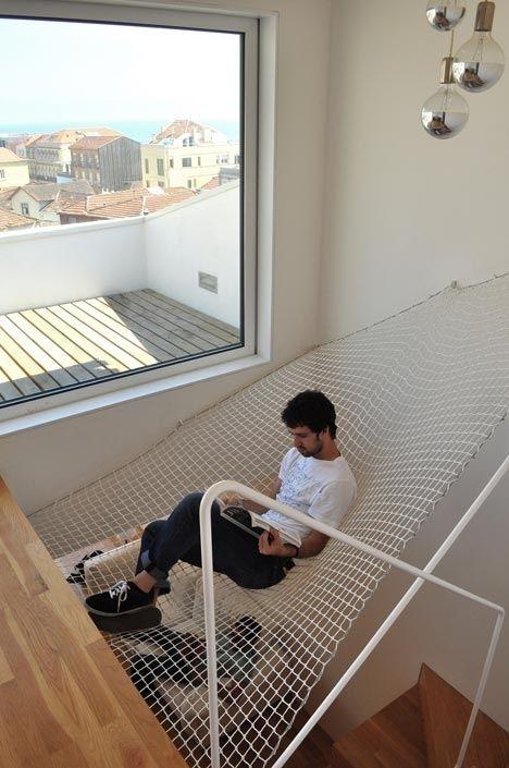 Mreža za ležanje kao dio interijera  KucaSnova.com