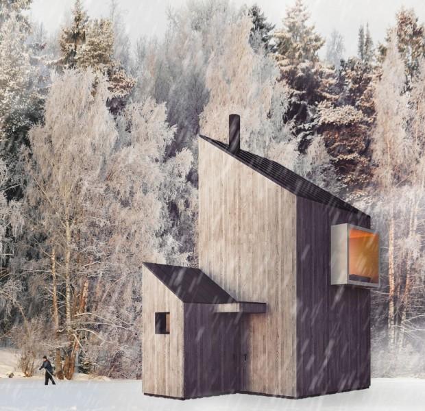 """Moderna zimska vikendica """"Fo4a Arhitekture"""" na Bjelašnici  KucaSnova.com"""