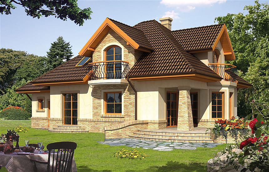Projekat ku a iliada for Proiecte case cu etaj si terasa