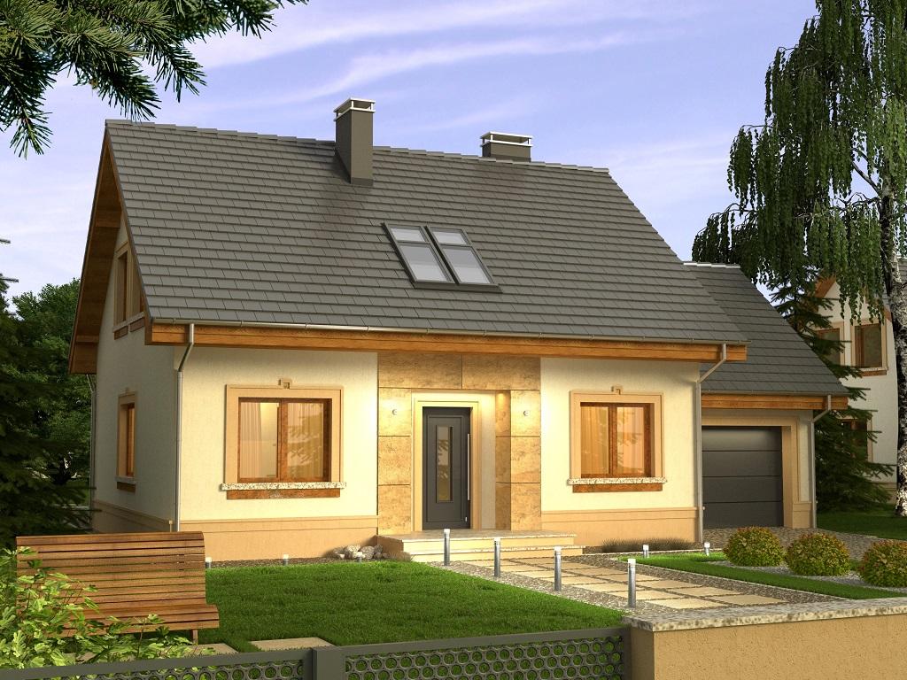 Projekat. Kuća Elegant  KucaSnova.com