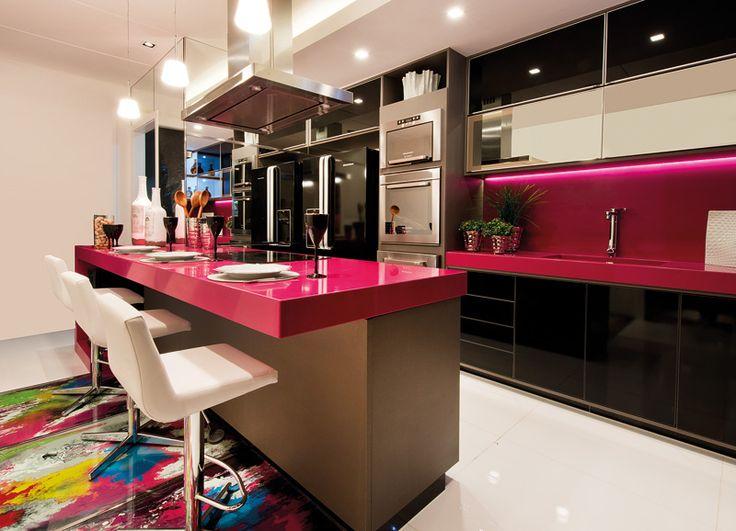 Kuhinja roze boje  KucaSnova.com