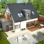 Projekat. Kuća AC Mati G1 CE (DOM AF1-19)