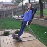 Inovativna stolica kao stvorena za one koji previše sjede