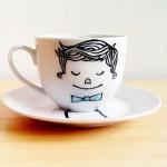 Ispijajte kavu u oslikanim šalicama
