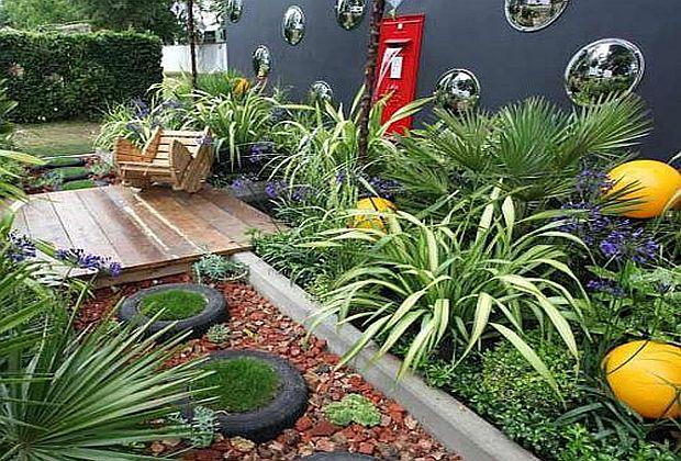 50 ideja za uređenje malog vrta ili terase (VIDEO)  KucaSnova.com