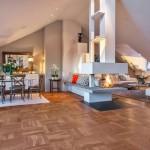 Skandinavski dizajn: savršeni švedski stan u potkrovlju