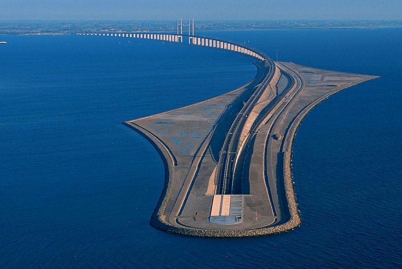 Arhitektonsko čudo Skandinavije most koji prelazi u podvodni tunel