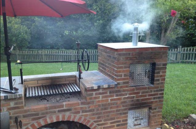 Uradi sam: Kako da napravite roštilj, ražanj i malu pušnicu u svom dvorištu ...
