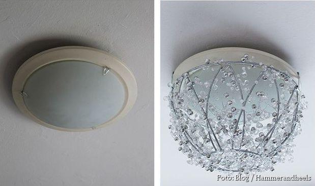 Divan projekat za vješte ruke: pretvorite običnu plafonjeru u najljepši luste...
