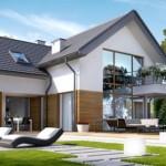 Komforna kuća sa potkrovljem i garažom (DETALJAN PLAN)