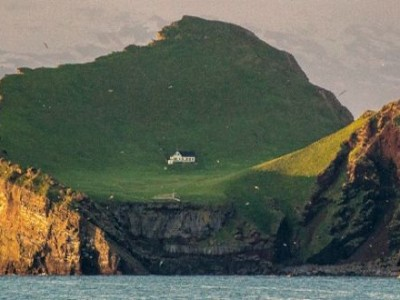Misteriozna kuća na napuštenom ostrvu (FOTO)