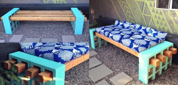 Napravite prekrasnu klupu za dvorište ili terasu za samo nekoliko minuta (FOT...