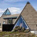 Prekrasna kuća za uživanje u obliku piramide 665