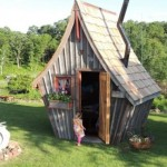 Bajkovite male kuće: Maštovita ostava u vašem dvorištu!