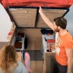 FENOMENALAN DIZAJN: Idealno rješenje za male stanove – Krevet i ormar u jednom!