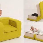 Ležaj-fotelja na rasklapanje za milion lajkova: dizajnerski namještaj za mali stan koji oduševljava Fejsbuk zajednicu