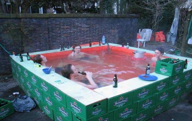 17 najkreativnijih bazena koji e odu eviti va u porodicu for Piscinas plegables