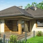 Topla porodična kuća sa potkrovljem (DETALJAN PLAN)
