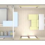 BIG BERRY mobilna kuća za 2 osobe 1