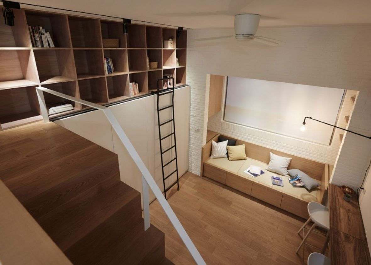 Minimalistički: Savršeno uređen dom u samo 22 kvadrata (FOTO)  KucaSnova.com