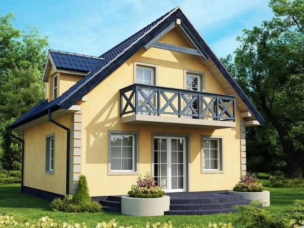 Niskoenergetska kuća '4Family' od 117 m2 (FOTO)  KucaSnova.com