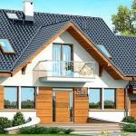 Topli porodični dom sa potkrovljem (DETALJAN PLAN)