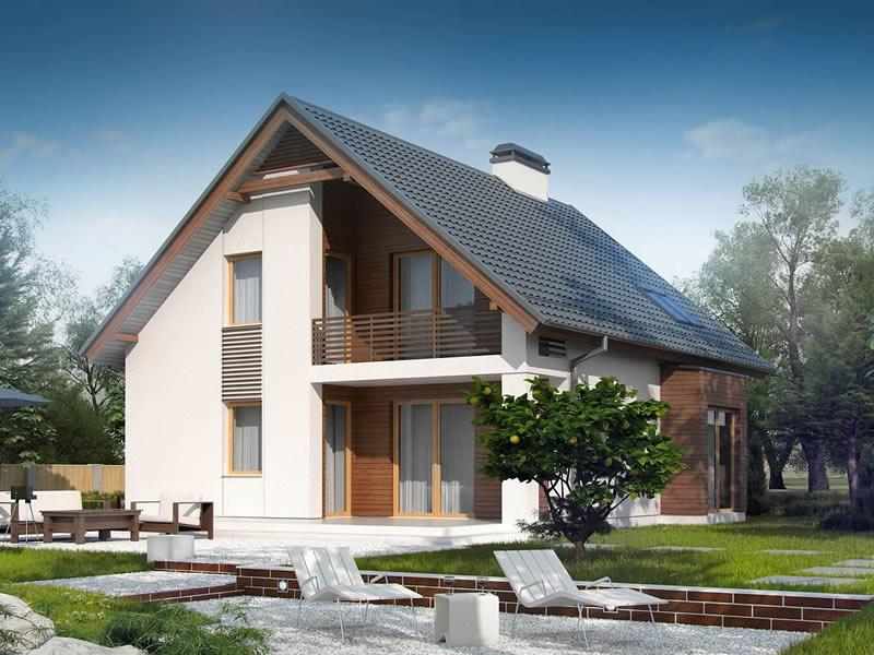Štedljiva kuća Alpen od 160 M2 (FOTO)  KucaSnova.com