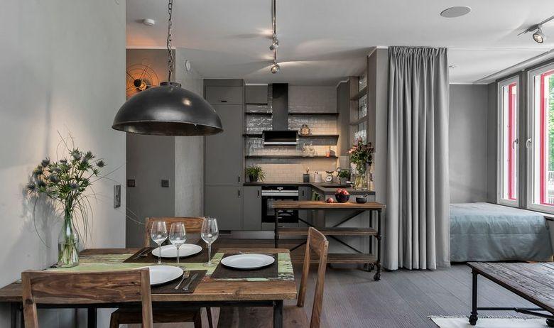 Jednosoban stan u skandinavskom stilu: kako elegantno urediti dom od 45 kvadr...