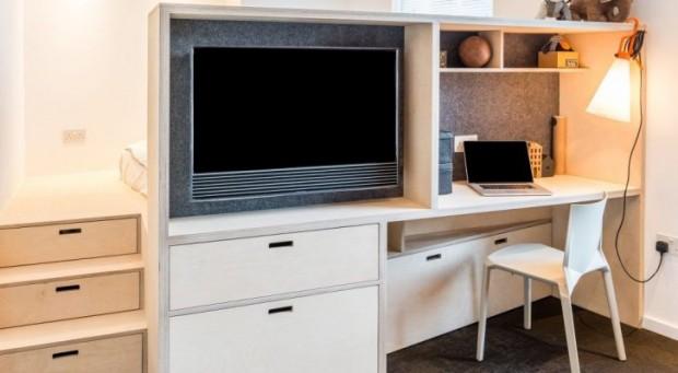 Genijalna rješenja u malom stanu od svega 35 kvadrata (FOTO)  KucaSnova.com